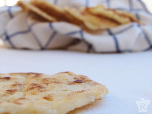 Arepas (colombianas) de queso