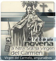 Novena a Ntra. Sra. la Virgen del Carmelo