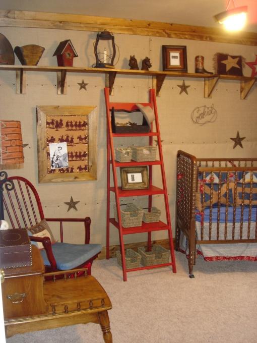 Cowboy baby nursery design dazzle for Cowboy bedroom ideas