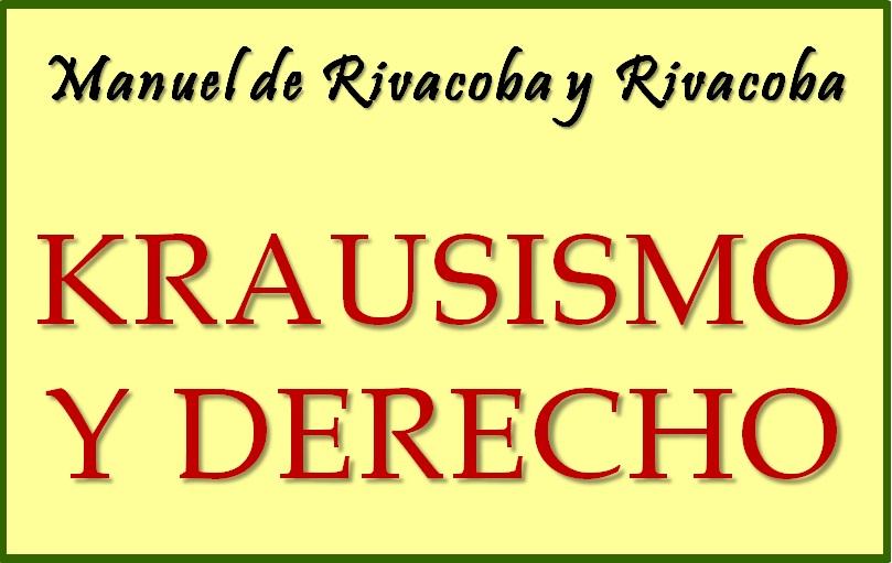 """""""Krausismo y Derecho"""". Pulse sobre imagen..."""