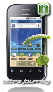 Harga Nexian Ultra Journey Spesifikasi NX A-891 Android Froyo