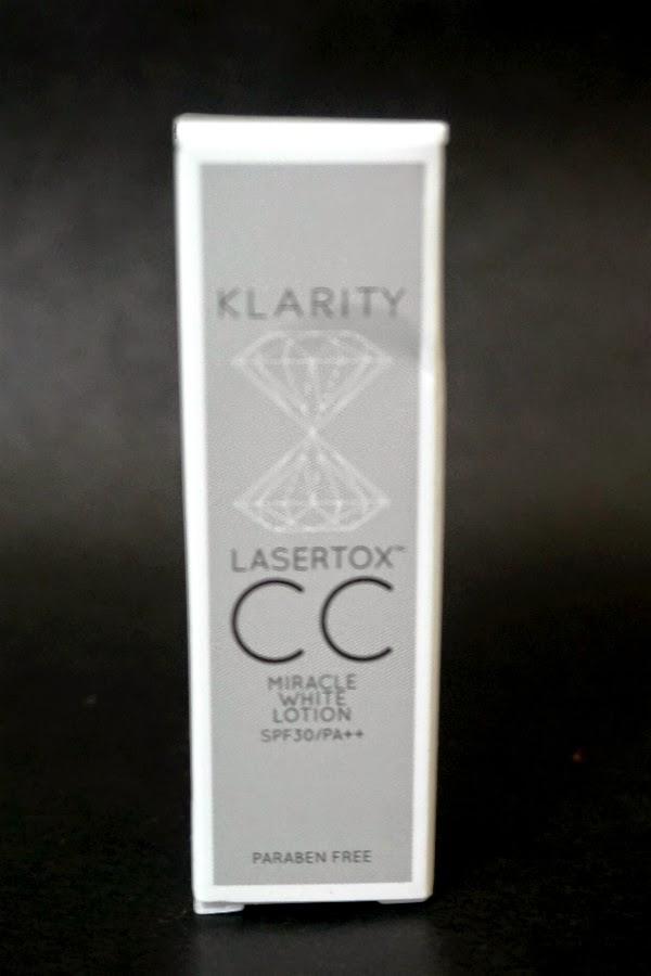 KLARITY Lasertox Miracle White CC Lotion
