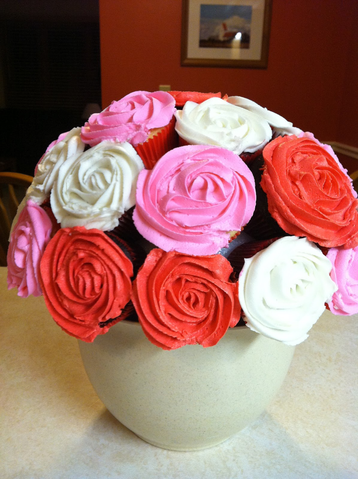 The Kitchen Dunce Cupcake Bouquet