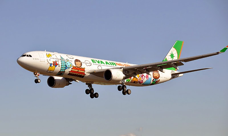 Hello Kitty Jet  Eva Air