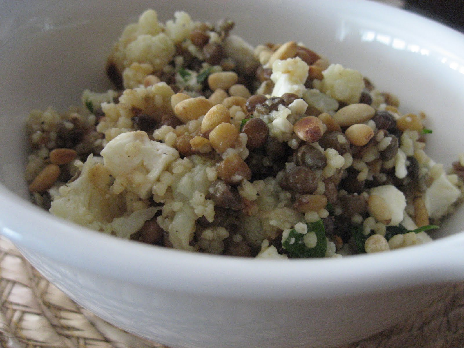Cauliflower, Bean And Feta Salad Recipe — Dishmaps