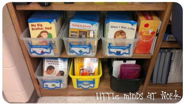 Guided Reading Books With my Guided Reading Tub