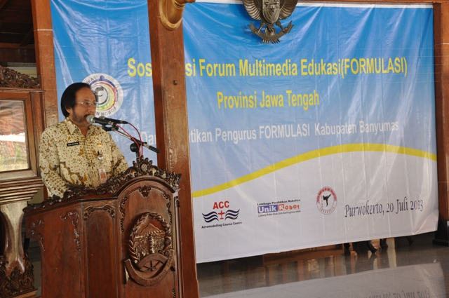Sambutan Wakil Bupati Banyumas, dr. Budi Setiawan