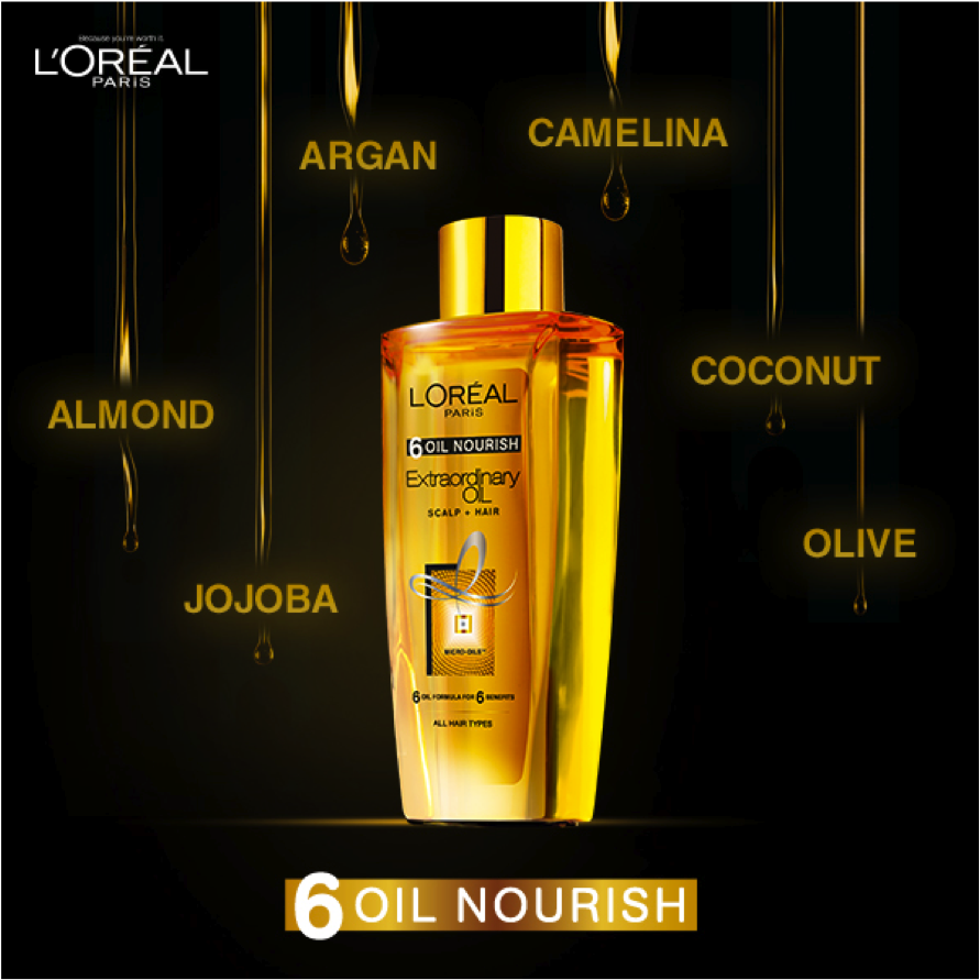 L'Oréal Paris launches 6 Oil Nourish image