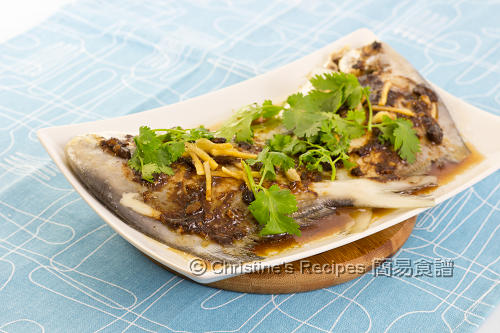 豉汁蒸鯧魚 Steamed Pomfret with Black Bean Sauce02