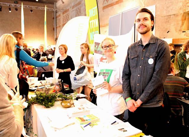 Oslo Vegetarfestival 2015 Veganmisjonen Veganmannen Norsk Vegansamfunn