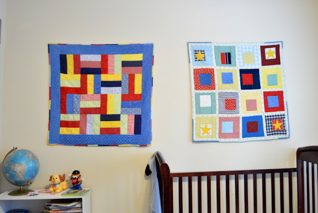 Displaying Baby Quilts