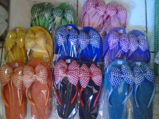 Sandal Jepit Pita Bali Motif Kotak