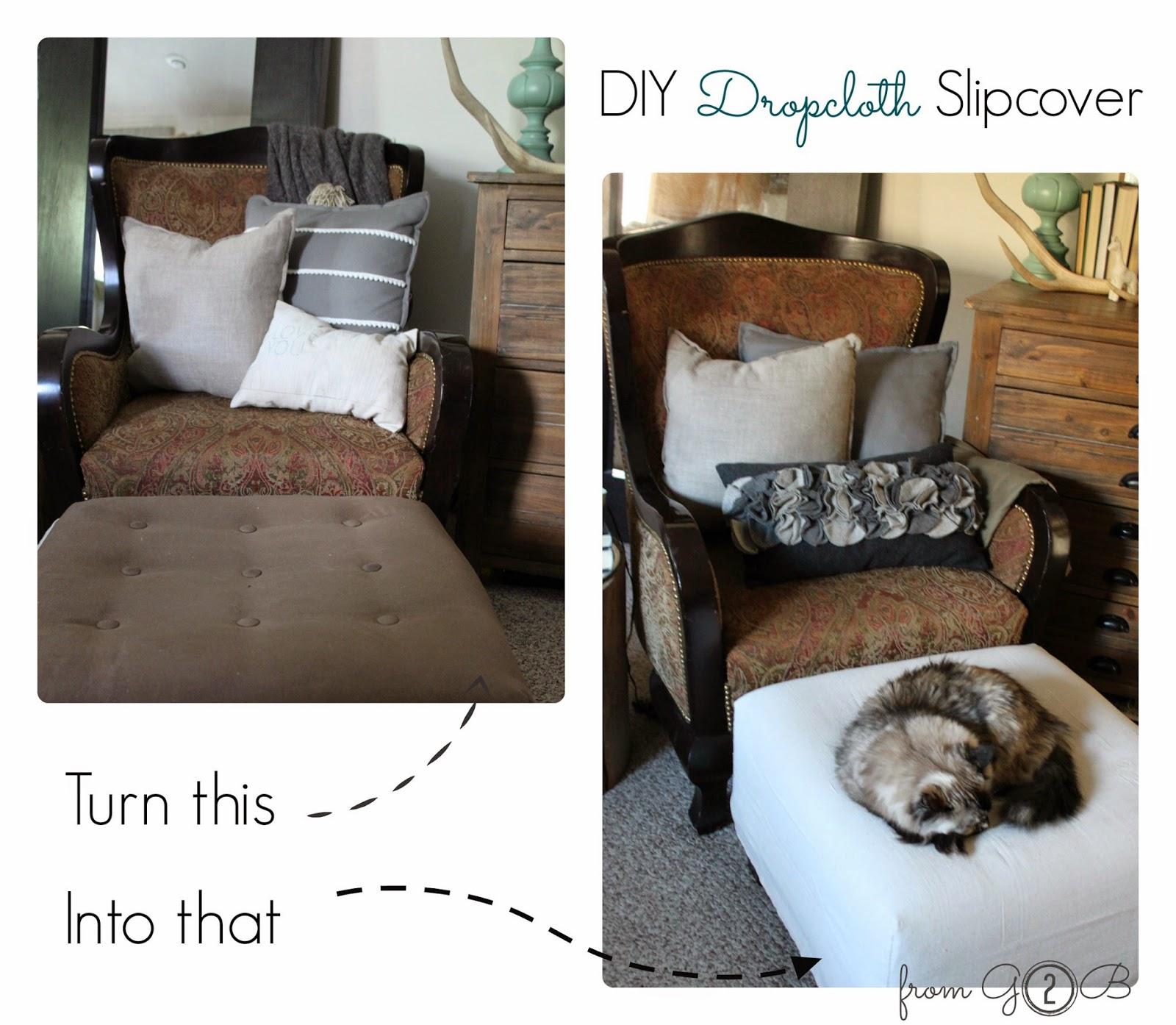 DIY-Dropcloth-Slipcover