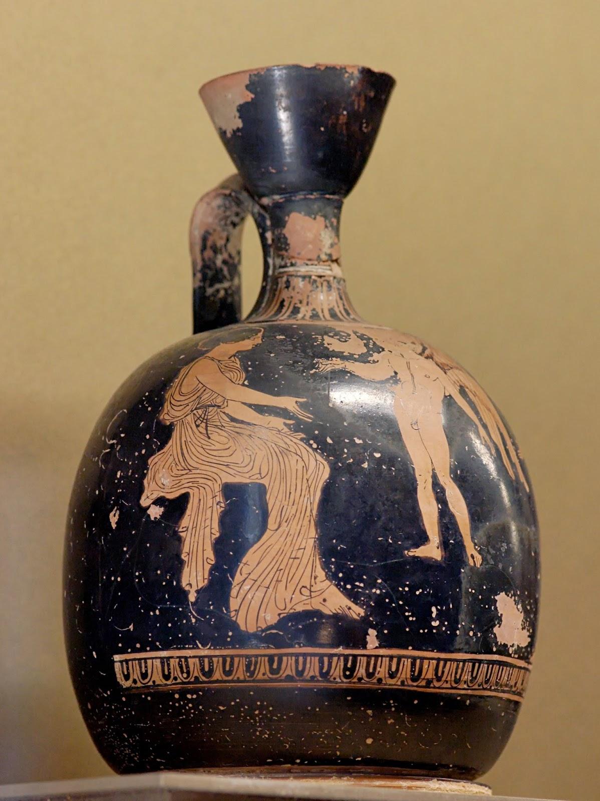 Forme dal passato lekythos vasellame antico for Vaso greco a due anse