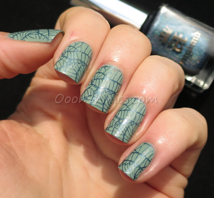 OPI Thanks A Windmillion with A England Proserpine and BornPrettyStore BP-L015