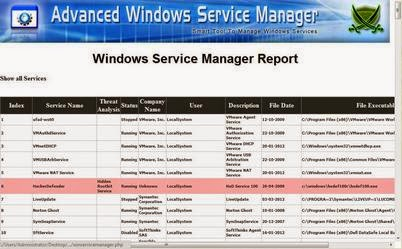 Mengetahui Proses Di PC Dengan Software Advanced Win Service Manager
