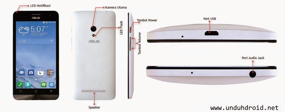 Spesifikasi Lengkap Asus Zenfone 5 Android