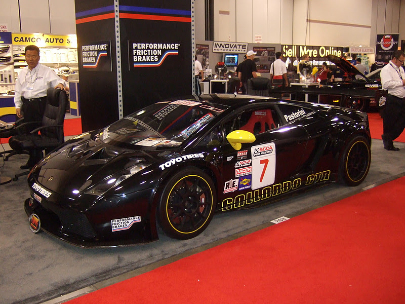 Sema Show Dan Pastorini S Lamborghini Gallardo Gtr