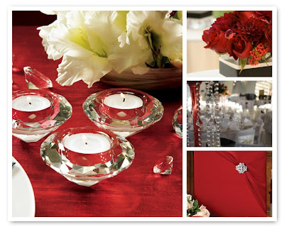 Crystal Wedding Table Decoration Trends