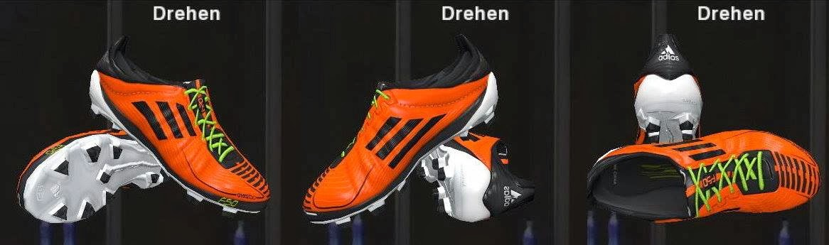 PES 2014 adizeroF50 2011 Orange by Ron69