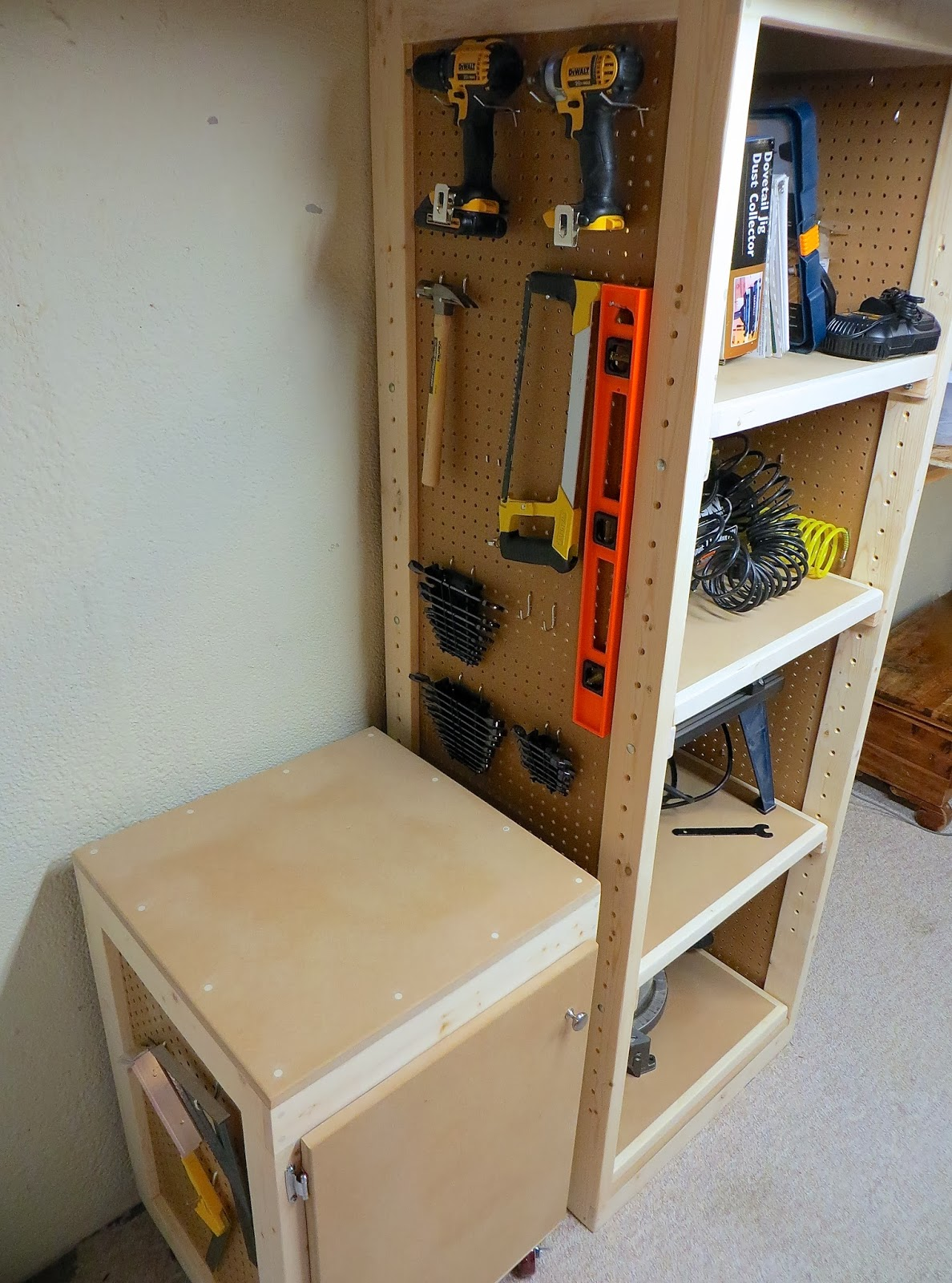 Woodshop Tool Storage System Project