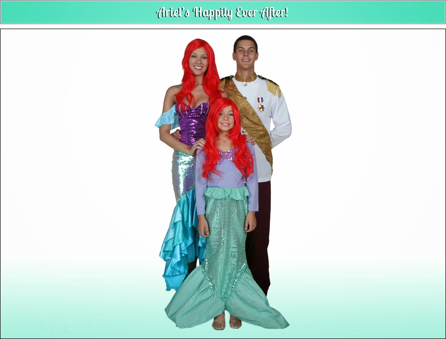 mermaid halloween costumes