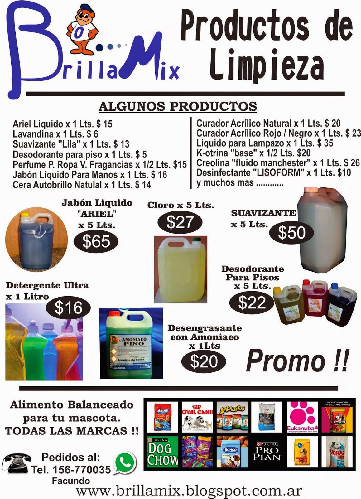 Articulos de limpieza for Productos de limpieza