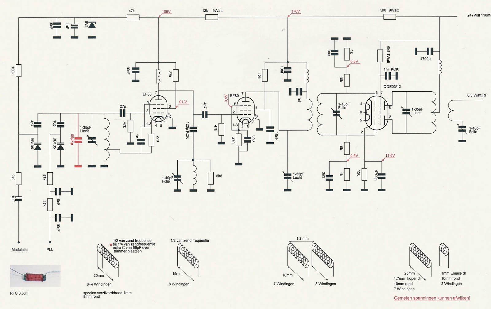 transmitter  u2013 15watt  qqe0312