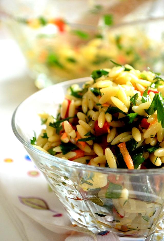arpa şehriye salatası tarifi ,salata tarifleri