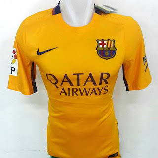 gamabr desain terbaru photo kamkera Jersey Barcelona away terbaru musim 2015/2016 di enkosa sport toko online lokasi jakarta