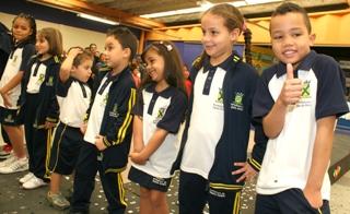 historia uniforme escolar: