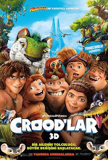 Crood'lar Türkçe Dublaj izle