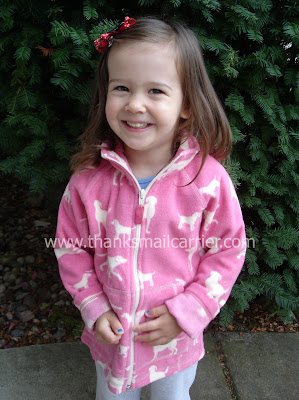 girls' fleece jacket
