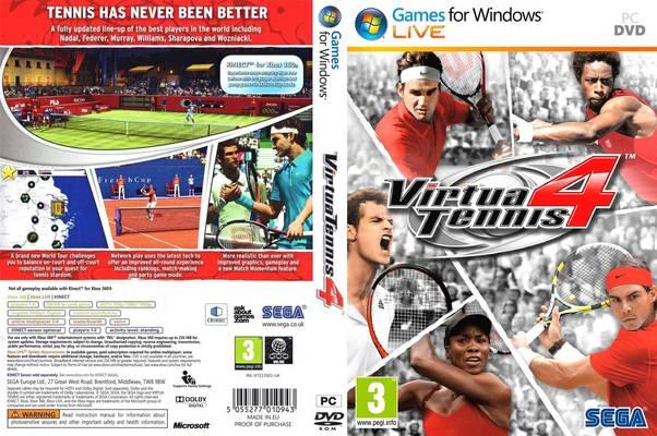 تحميل لعبة Virtua Tennis 4  برابط واحد مباشر