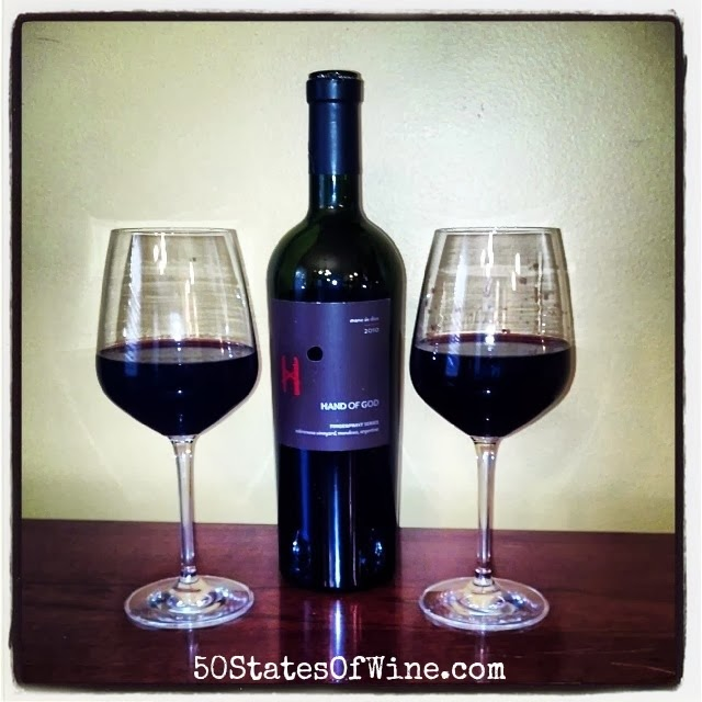 Hand of God Wines 2010 Fingerprint Series Red