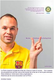 Famosos en campaña Polio