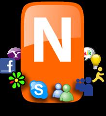 صورة توضح شعار برنامج نيمبز 2014 أخر إصدار