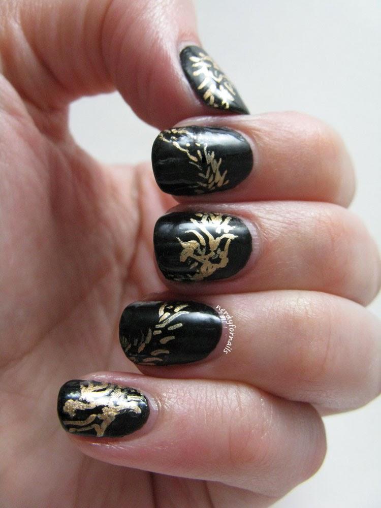Elder Scrolls Online Logo Nails