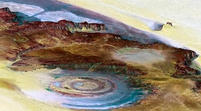 عين الصحراء Eye of Sahara