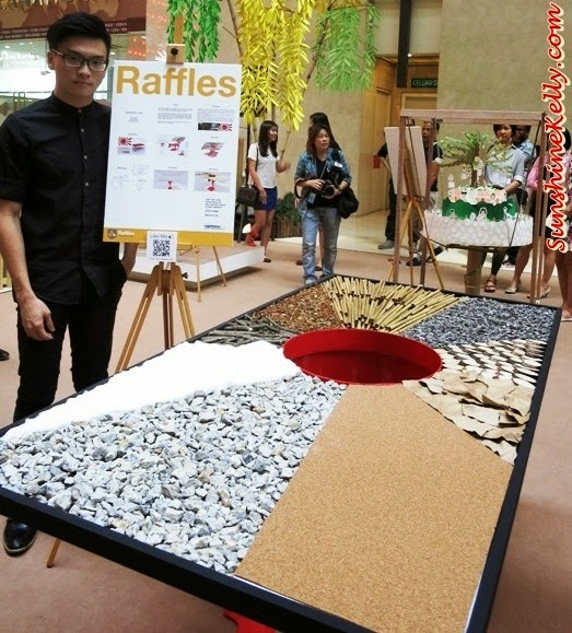 Resource.Life, Tokyo Street Earth Month, raffles college, Mother Nature, Art exhibition, pavilion kl, recycle material, recycle art