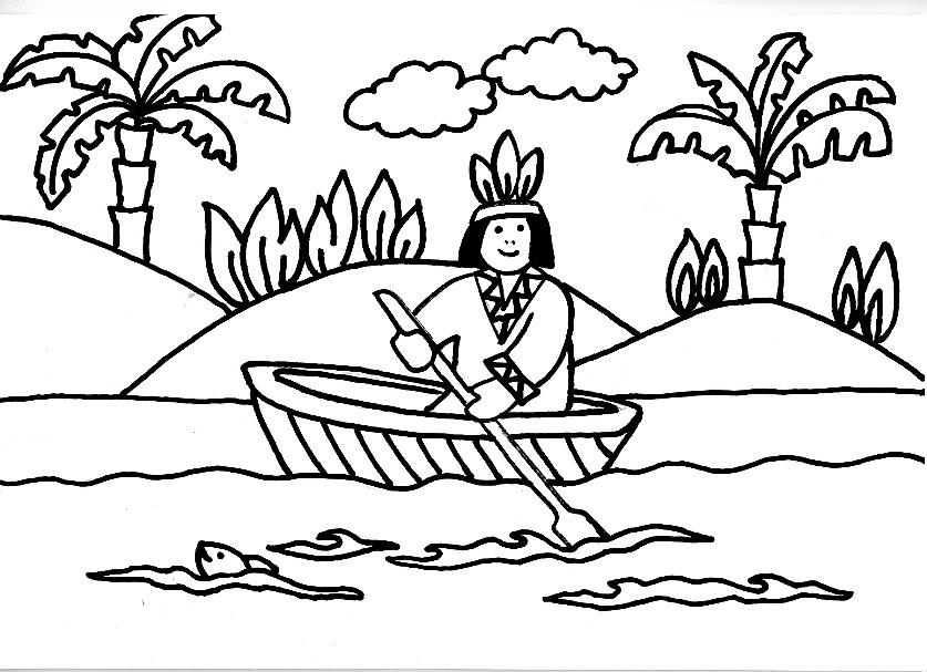 PZ C: indios desenhos