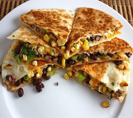 Black Bean and Corn Quesadillas Recipes