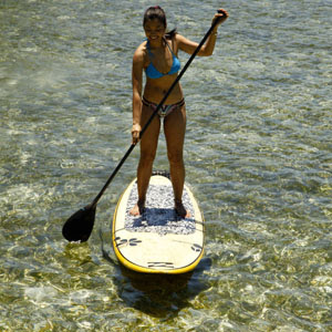 Siargao Stand-up paddle boarding
