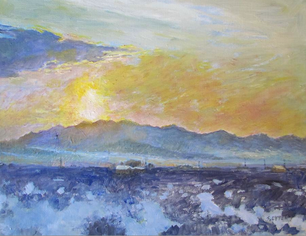 Early Morning Wonder Valley, by Sandra Lytch