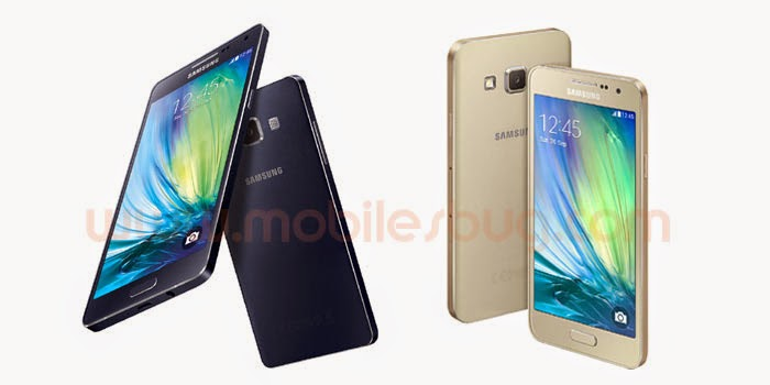 Samsung launches Galaxy A3 & A5 Smartphone