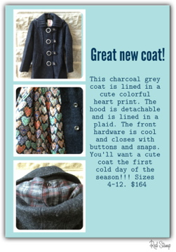Fun new heart coat!!!