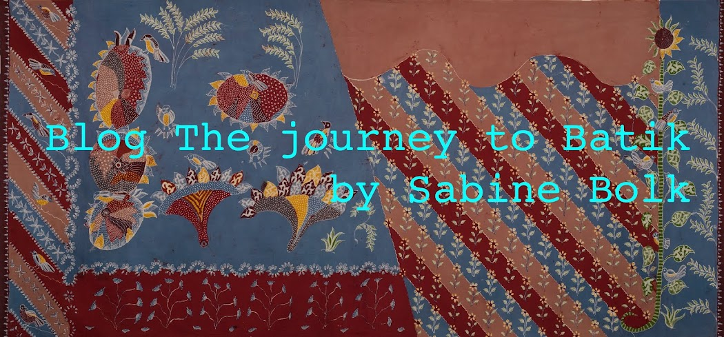 The journey to Batik / De reis naar Batik / by Sabine Bolk