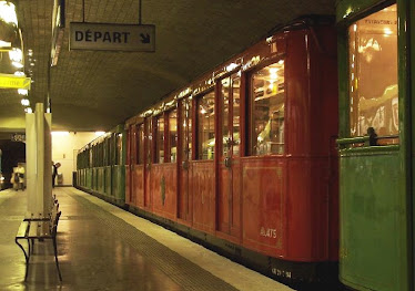 Sprague-Thomson Metro Carriage, Paris