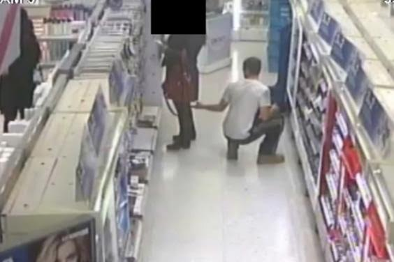 See what man was caught doing inside a mall