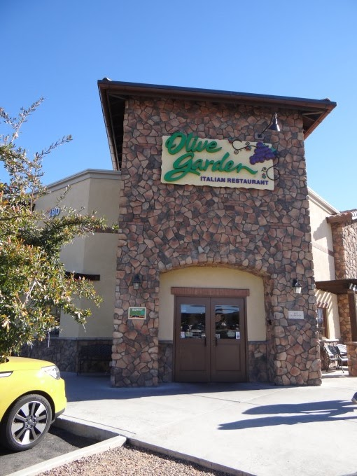 eric spotted the nearby olive garden asked - Olive Garden Yuma Az